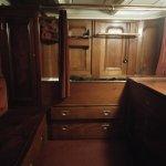 Cosy ship's cabin