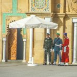 The Different Uniforms Of The Guards At The Royal Palace of Rabat