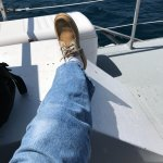 docksiders a must aboard the RV
