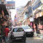 Narrow street in Thamel.