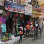 Trekking equipment shop in Thamel.