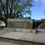 Memorial tomb inside Fortress of Suomenlinna