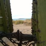 Very through the old carriages to Jarman Island