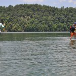 Build your paddling skills, core strength, balance and coordination with personal SUP instructio