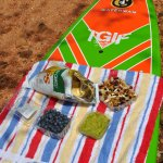A delicious gourmet snack can be requested on any one of our Lake SUP tours.
