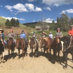 Purktinez family vacation at the Roaring Ranch Ride and Cookout!! Awesome place and great food..