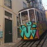 Funicular and narrow street
