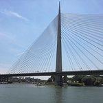 Belgrade New bridge over river Sava