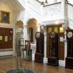 The Central hall with a few of the beautiful clocks