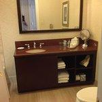 A good size bathroom
