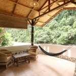 Balcony and view from Rainforest room