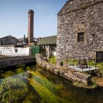 Situated on the Brosna river with our iconic chimney seen from miles around