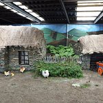 One of the Dioramas at Doagh Famine Village