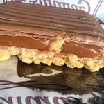 caramel shortbreak (made with crispes_