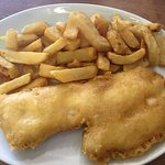 Haddock and chips