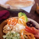 Our chefs prepare healthy Berber salads using locally-sourced ingredients