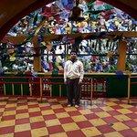 Me inside temple