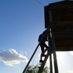 Os visitantes têm a oportunidade de subir a uma das nossas torres de vigia. Vigilance tower.