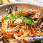 Cicchetti's Spaghetti with Shellfish