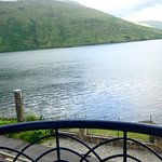 View of Killary Harbour from a front room