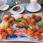 Ask for a mixed selection of sushi and the chef will happily oblige.
