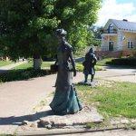 Скульптуры на ул. Кропоткинской