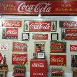 Swainsboro Museum of Coca-Cola Advertisement