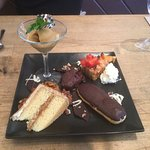 Dessert Sampler - Have this as your meal! YUMMMM.