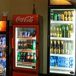 Beer and soft drinks available