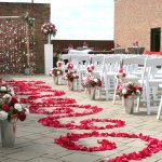 Outdoor weddings, receptions & vow renewals