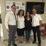 Con nuestras amigas de Portugal