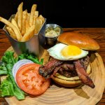 Juicy Lucy Whisky Burger