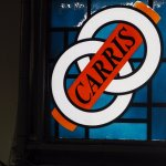 Stained Glass Window at Carris Museum
