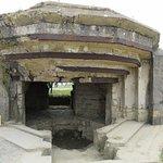 German machine gun enclosure at Pointe du Hoc.