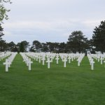These graves are from The Battle of Normandy, not just D-Day..