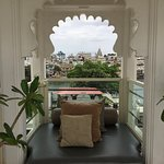 A charming and tranquil hotel with antique feel and tasteful decor.
