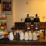Complimentary hot drinks