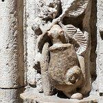 Detalles de la fachada (caracol)