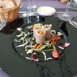 Château de trigance et repas
