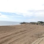 Dawlish Warren Main Beach after the Beach Recharge works - lots of Golden Sand