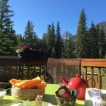 View from the deck at breakfast