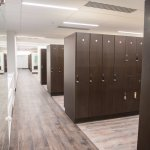Our renovated locker rooms have a steam room and sauna available for your use.