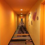 Very cool hallway - retro upbeat