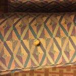 Burn holes in furniture