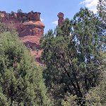 photo of Kachina Woman rock from the tour