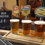 Local selection of Real Ales