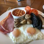 Full English - with black pudding