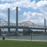 Lincoln and Kennedy bridges.
