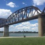 The Big Four pedestrian bridge.