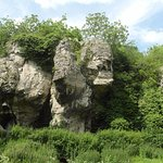 Spectacular rock formation